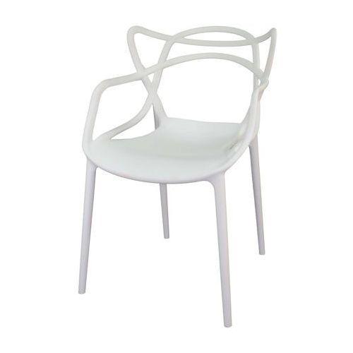 Krzesło Lille Białe z kategorii Krzesła