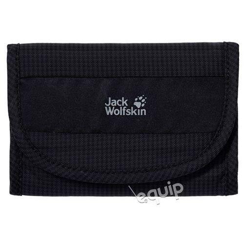 Portfel podróżny  cashbag rfid - black marki Jack wolfskin