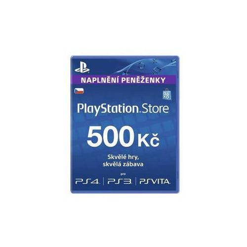 Karta pre-paid playstation live cards 500kč - ps store czeska (ps719894339) marki Sony
