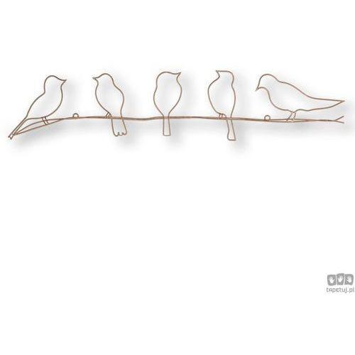Dekoracja ścienna ptaki 104040 marki Graham&brown