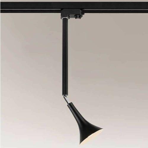 Lampa sufitowa kanzaki 7962 metalowa oprawa regulowana led 4,5w 3000k do systemu szynowego czarna marki Shilo