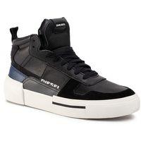 Sneakersy DIESEL - S-Dese Mg Mid Y02108 P2462 H7812 Black/Asphalt/Estate, kolor czarny