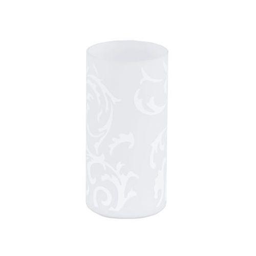 Eglo Lampa stołowa geo lampka oprawa 1x60w e14 biała 91242 (9002759912420)