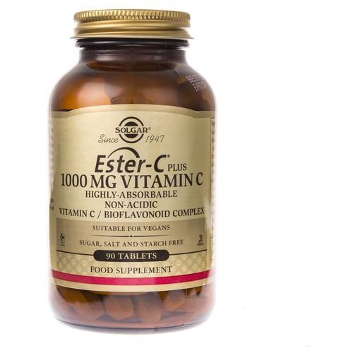 Solgar Ester C Plus – 1000 mg Witaminy C - 90 tabletek