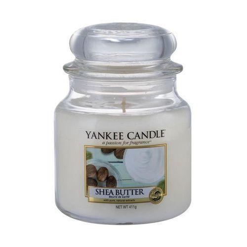 Yankee Candle Shea Butter aromatyczna świeca zapachowa słoik średni 411 g (5038580048513)
