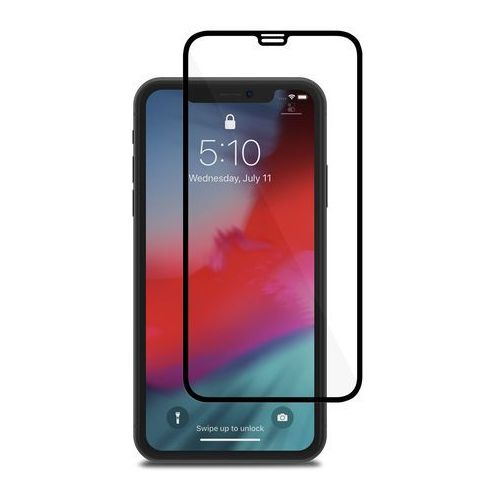 ionglass szkło hartowane 9h na cały ekran iphone xr (black) marki Moshi