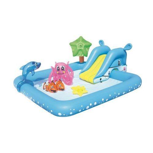 Bestway Dmuchany plac zabaw Akwarium ze zjeżdzalnią 53052
