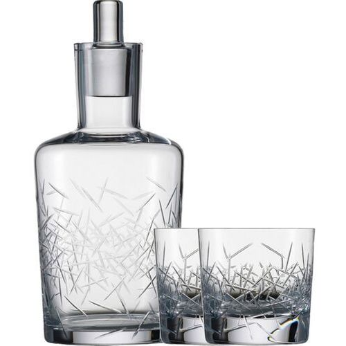 Karafka kryształowa i szklanki do whisky Hommage Glace Zwiesel (SH-1361-05LG-SET), SH-1361-05LG-SET