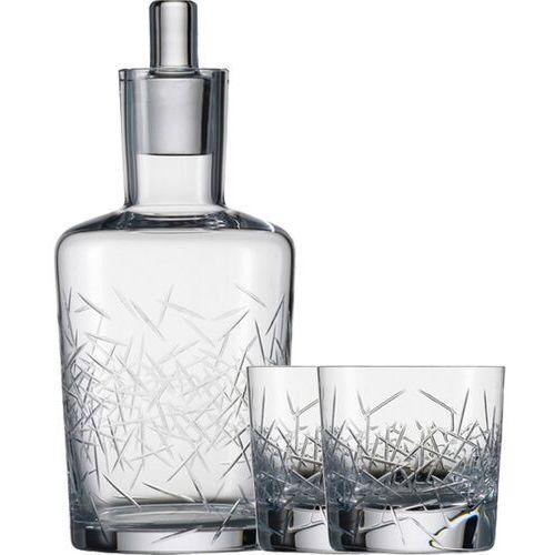 Karafka kryształowa i szklanki do whisky Hommage Glace Zwiesel (SH-1361-05LG-SET)