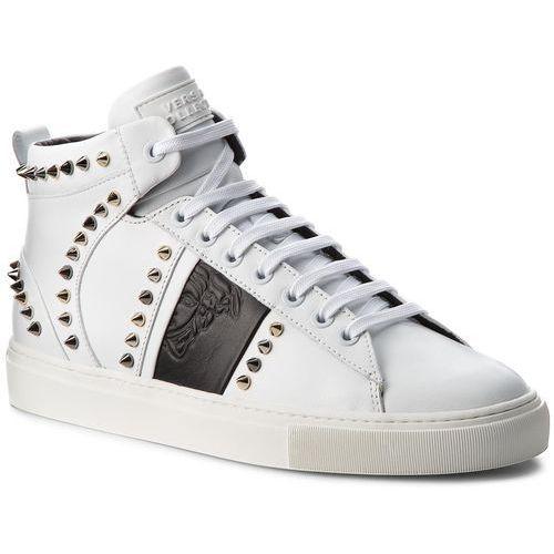 Sneakersy collection - v900716 vm00393 v874 bianco/nero/fdo marki Versace