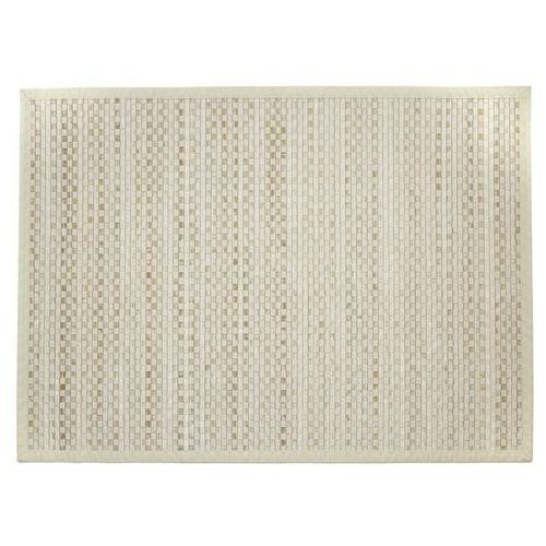 Teppich Bambus, Bambusteppich, Badteppich, Matte, Bambusmatte, 120 X 170 - beige