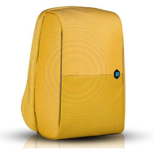 """metrobag plecak na laptopa 17"""" / antykradzieżowy / żółty - spectra yellow marki Bg berlin"""