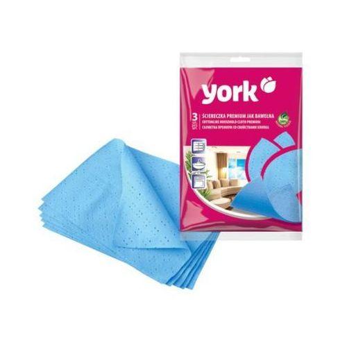 York Ściereczka 020300 premium 3 szt.