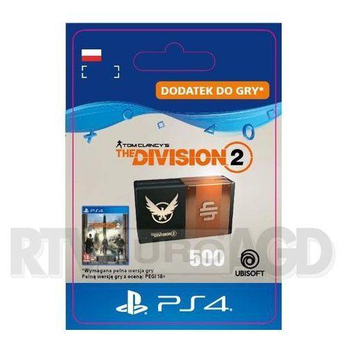 Tom Clancy's The Division 2 - Pakiet 500 Kredytów [kod aktywacyjny] PS4 (0000006201409)