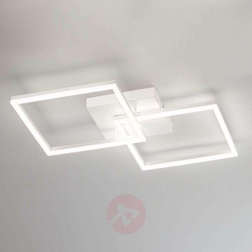 Fabas luce Nowoczesna lampa sufitowa led bard, biała