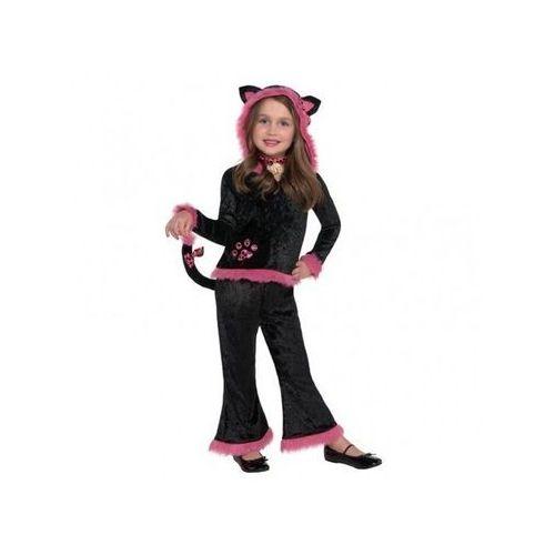Kostium słodki kotek dla dziewczynki - 5/7 lat (116) marki Amscan
