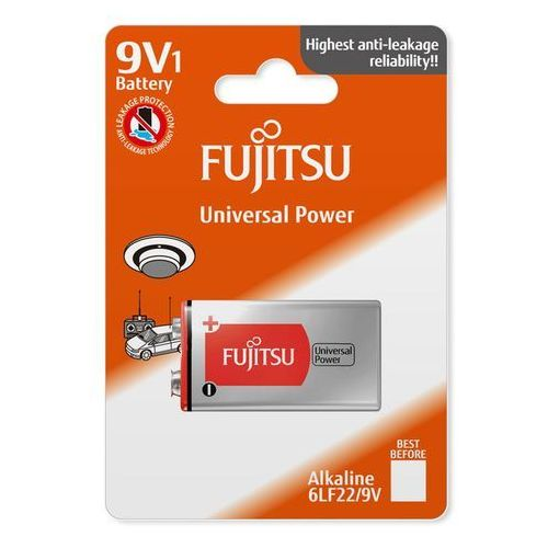 1 x bateria alkaliczna universal power 6lr61/9v (blister) marki Fujitsu