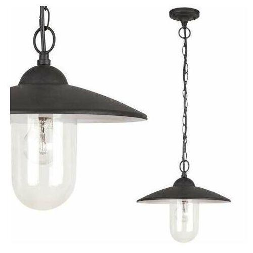 Lampa wisząca zewnętrzna ogrodowa Rabalux Vigo1x60W E27 IP44 czarny mat/biały 8687, 8687