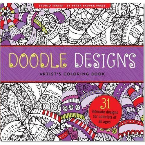 Kolorowanka artystyczna gryzmoły doodle design marki Praca zbiorowa