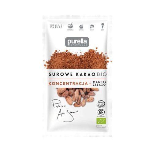 Purella sp. z o.o. Purella superfoods 40g surowe kakao sproszkowane bio