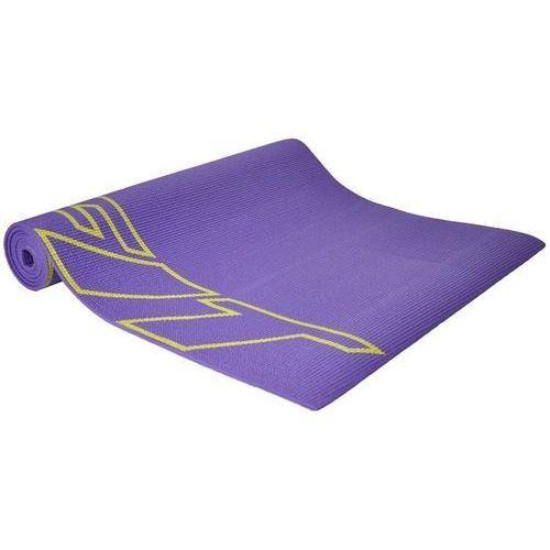 Axer sport Mata do ćwiczeń fitness jogi axer fioletowa 0,6 cm - fioletowy