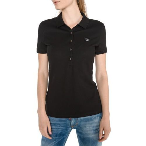 polo koszulka czarny l, Lacoste