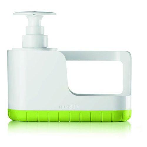 Guzzini - tidy & clean - organizer do zlewu z dozownikiem, zielony - zielony