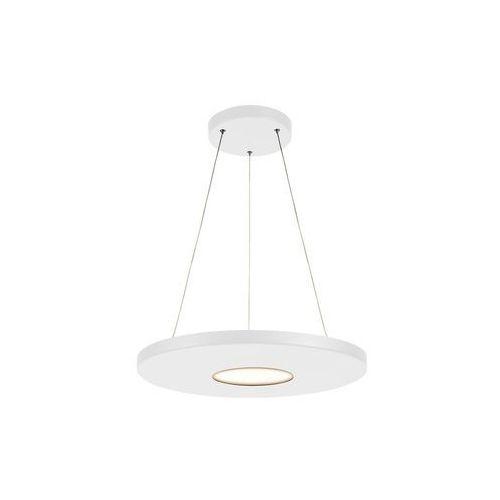 Markslojd Plate 107590 Lampa wisząca zwis oprawa 1x18W LED biała (7330024580541)