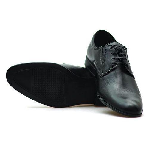 Pantofle c00c-6505-0517-00d01 czarne lico, Conhpol