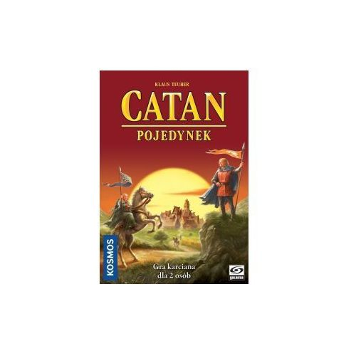 Catan: pojedynek. gra planszowa marki Galakta