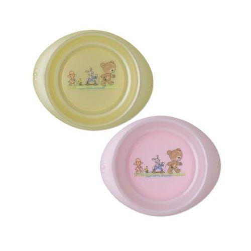 Rotho babydesign Rotho miseczka do nauki jedzenia tender rose perl/ vanille perl 2 szt.