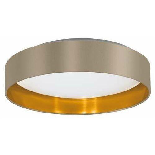 Eglo Maserlo 2 99541 plafon lampa sufitowa 1x24W LED popielaty/złoty (9002759995416)