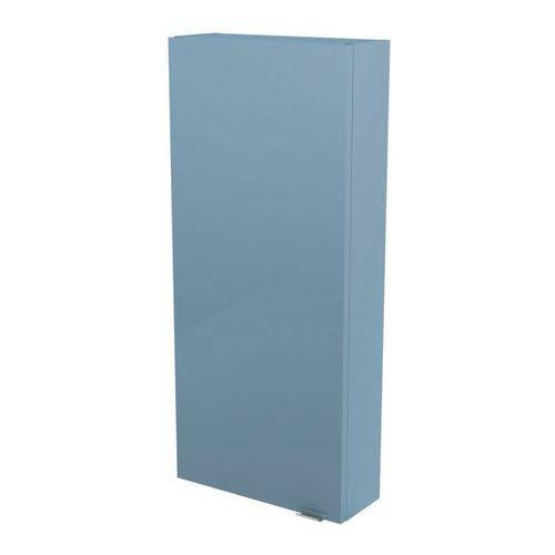 Szafka imandra 40 x 90 x 15 cm niebieska marki Goodhome