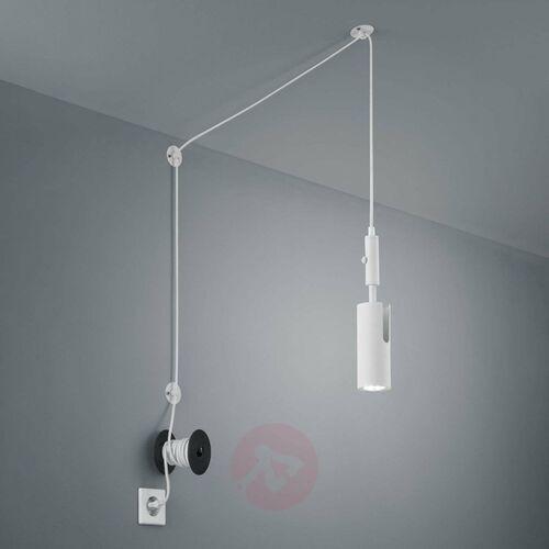 Trio Lampa wisząca leuchten carla biały, 1-punktowy - przemysłowy - obszar wewnętrzny - carla - czas dostawy: od 3-6 dni roboczych