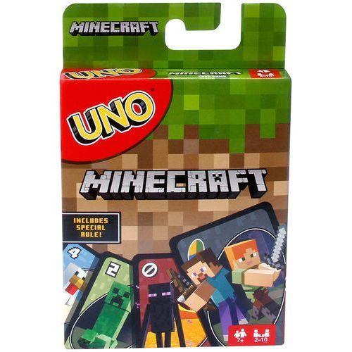 gra karciana uno minecraft marki Mattel
