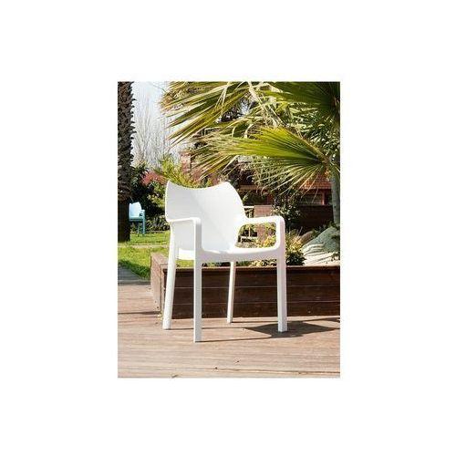 Krzesło dionisio white arm chair marki Resol