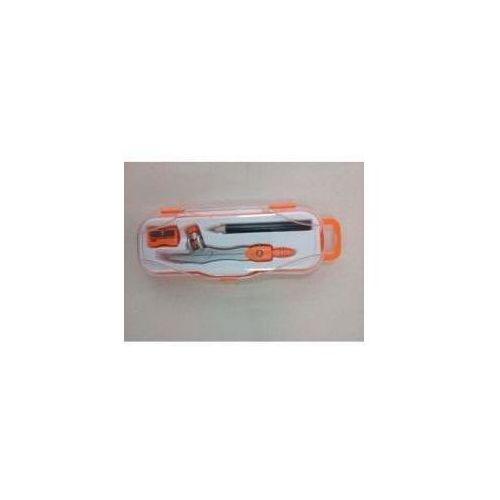 Cyrkiel szkolny PC-102 pomarańczowy PENMATE