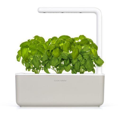 Inteligentna donica Click and Grow Smart Garden 3 mellow beige, SG3BG