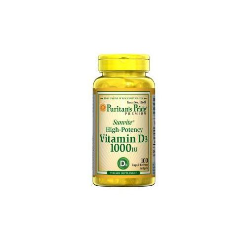 Witamina D3 1000 IU / 100 kaps
