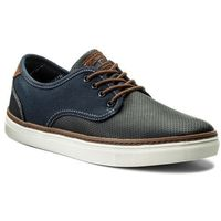 Sneakersy LANETTI - MP07-16171-01 Granatowy, w 5 rozmiarach