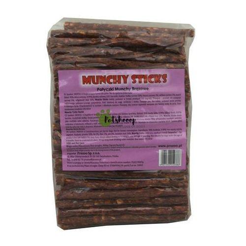 """Patyczki Munchy brązowe 5"""" 12,5cm 100szt."""