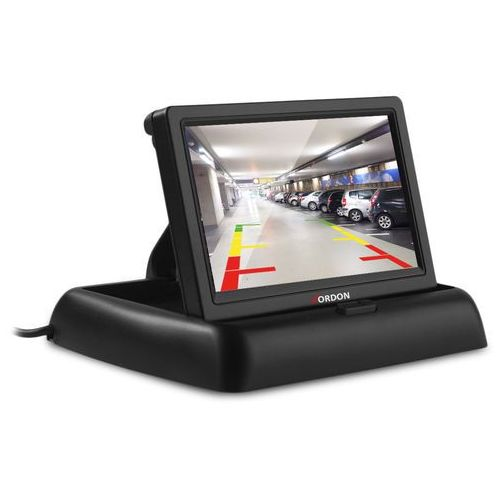 Monitor kamery cofania VORDON CR-43