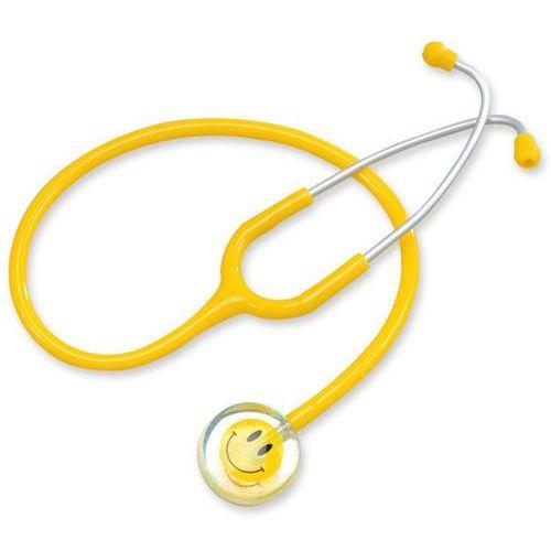Spirit Stetoskop pediatryczny smiley ac603s - głowica z uśmiechem, żółty