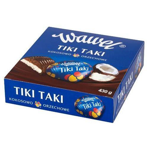 430g tiki taki kokosowo-orzechowe czekolada z nadzieniem | darmowa dostawa od 150 zł! marki Wawel