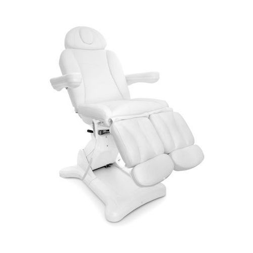 Activ Fotel kosmetyczny elektr. obrotowy 2246a pedi biały