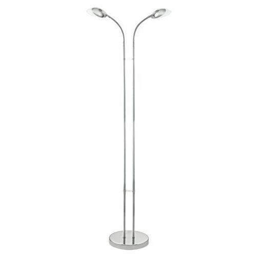 Lampa podłogowa canetal 1 93589 oprawa 2x3w led chrom marki Eglo