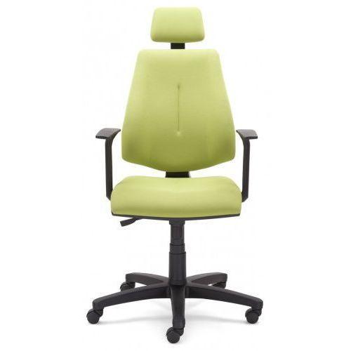 Krzesło obrotowe GEM hru gtp46 ts06 - biurowe z zagłówkiem, fotel biurowy, obrotowy
