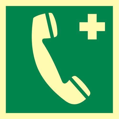 Telefon alarmowy do wezwania pierwszej pomocy