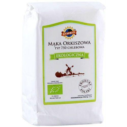 Mąka orkiszowa typ 750 chlebowa bio 1kg marki 105symbio