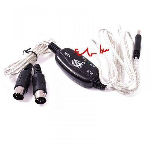 KABEL USB MIDI mini studio!!!. Najniższe ceny, najlepsze promocje w sklepach, opinie.